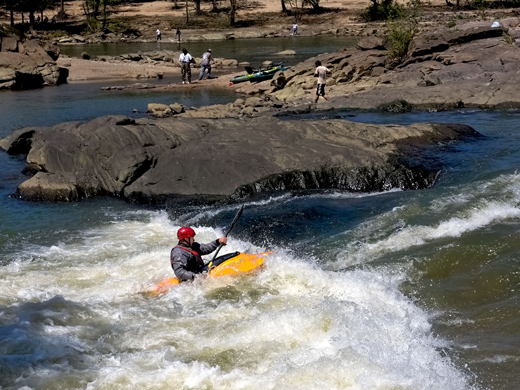 Chattahoochee RiverWalk in Columbus, Georgia, a public/private partnership that has turned the river into a world-class training area for kayakers