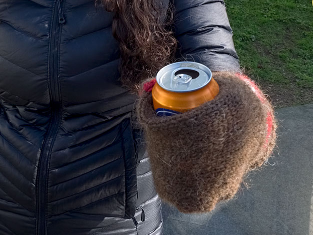 One of the funniest facts about Iceland - this mitten was invented to allow them to carry cold beer in an even colder climate