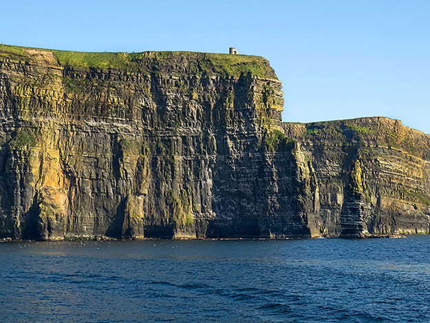 At their highest, the Cliffs of Moher soar more than 700 feet