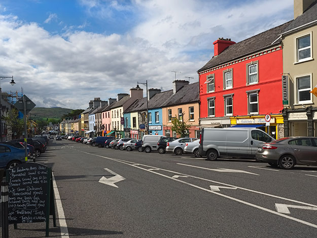 Pretty Kenmare was our gateway into Ireland's Wild Atlantic Way