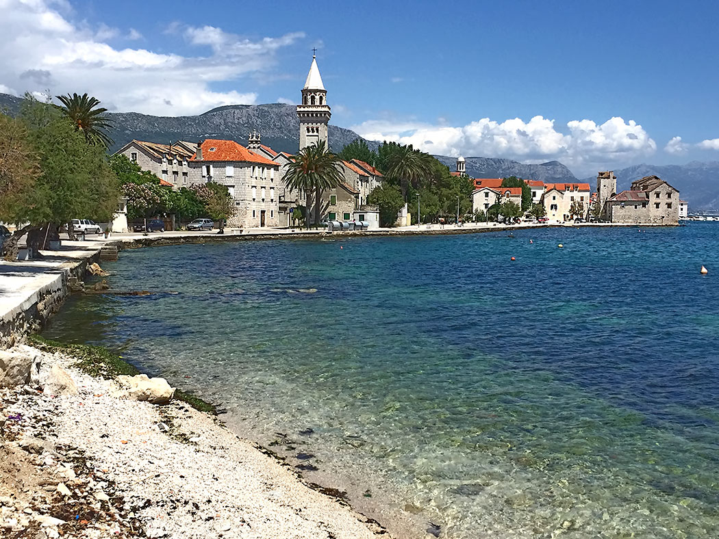 A string of villages, each named for a different defensive castle built to protect against Ottoman raids, combine to make the Town of Kastela, Croatia