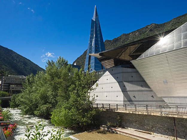 When Visiting Andorra, a visit to Caldea Spa, the largest spa in Europe, is an absolute must