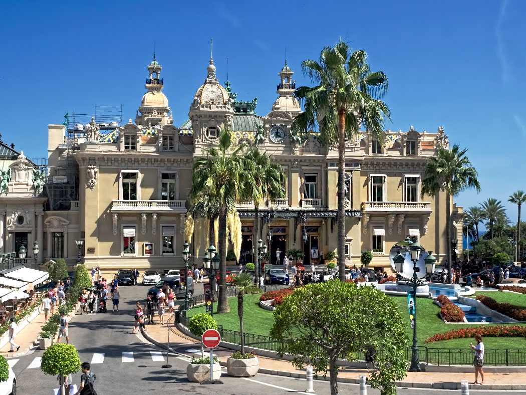 Casino of Monte Carlo in Monaco is open to all but citizens of the tiny country