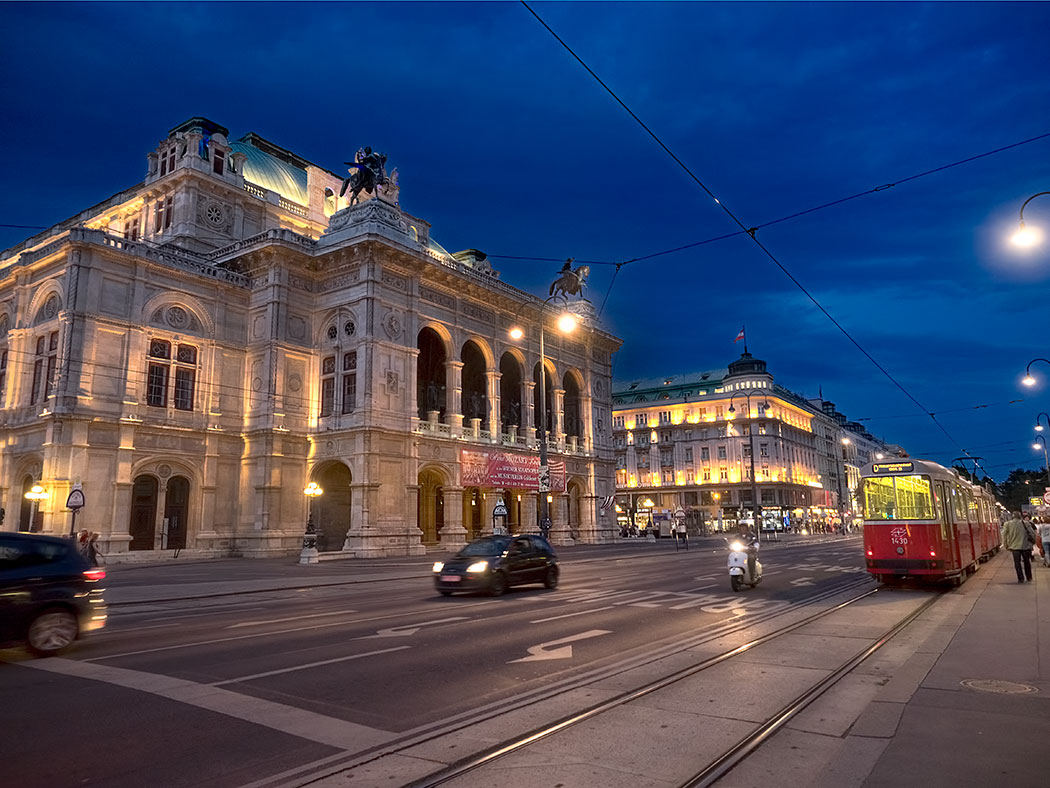 Vienna State Opera House, perhaps the most iconic building in the Austrian capital
