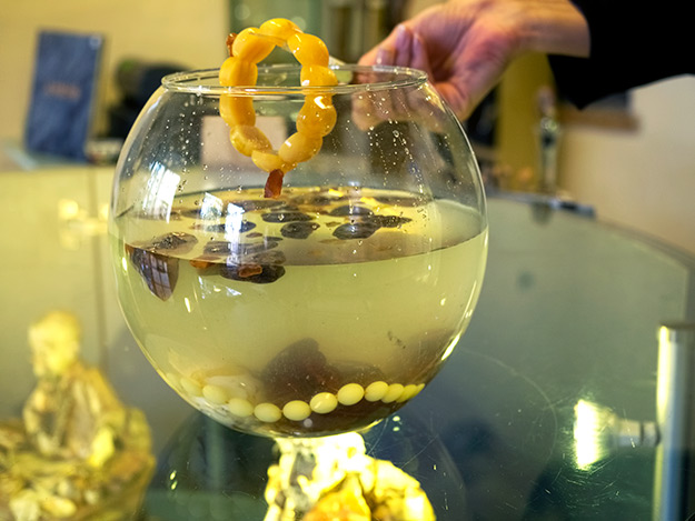 Real amber floats, while fake sinks to the bottom in a 10% salt water solution
