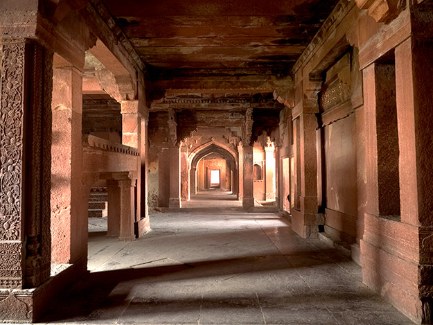 The Imperial Residence at Fatehpur Sikri