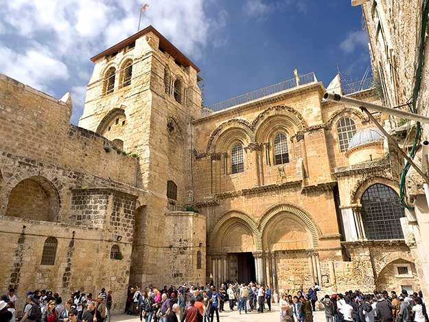 Church of the Holy Sepulchre in the Old City of Jerusalem