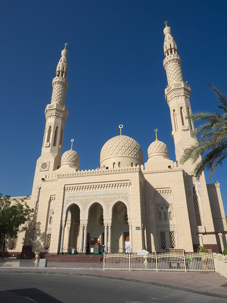 Touring the Jumeriah Mosque is another highly recommended activity when visiting Dubai