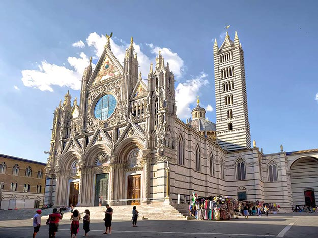 The Duomo in Siena was a highlight of my day trip to this famous hilltop town