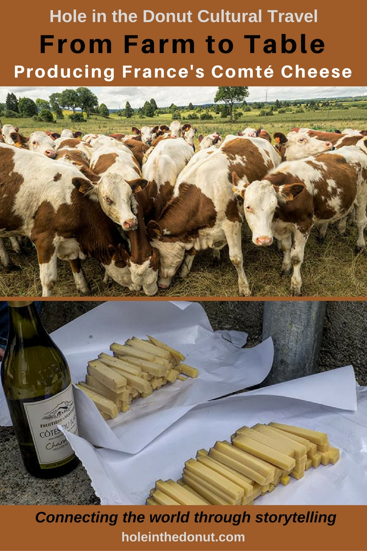 From Farm to Table - the Art of Producing France's Famous Comté Cheese
