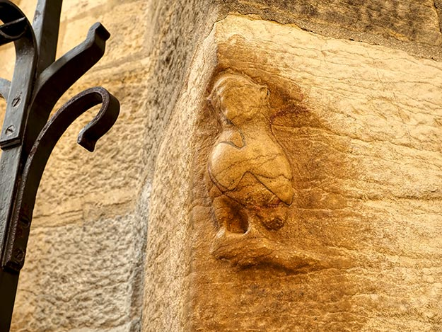 Named for this ancient owl that was carved into the facade of the Parish of Notre-Dame, brass markers in the streets of Dijon lead visitors on the self-guided Owl's Trail walking tour
