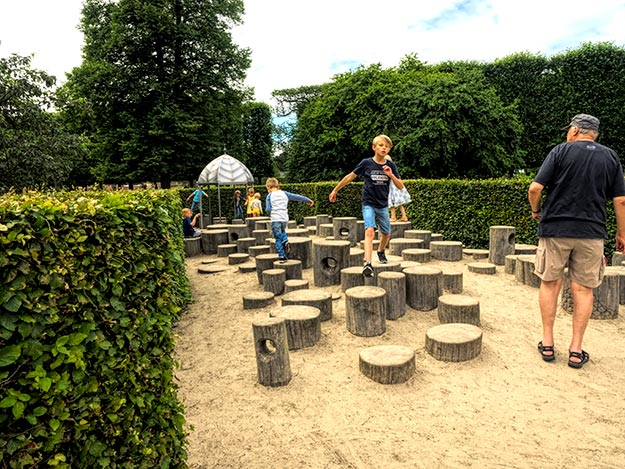Is Copenhagen for kids? If this playground in King's Garden is any indication, it's a great city for kids and families