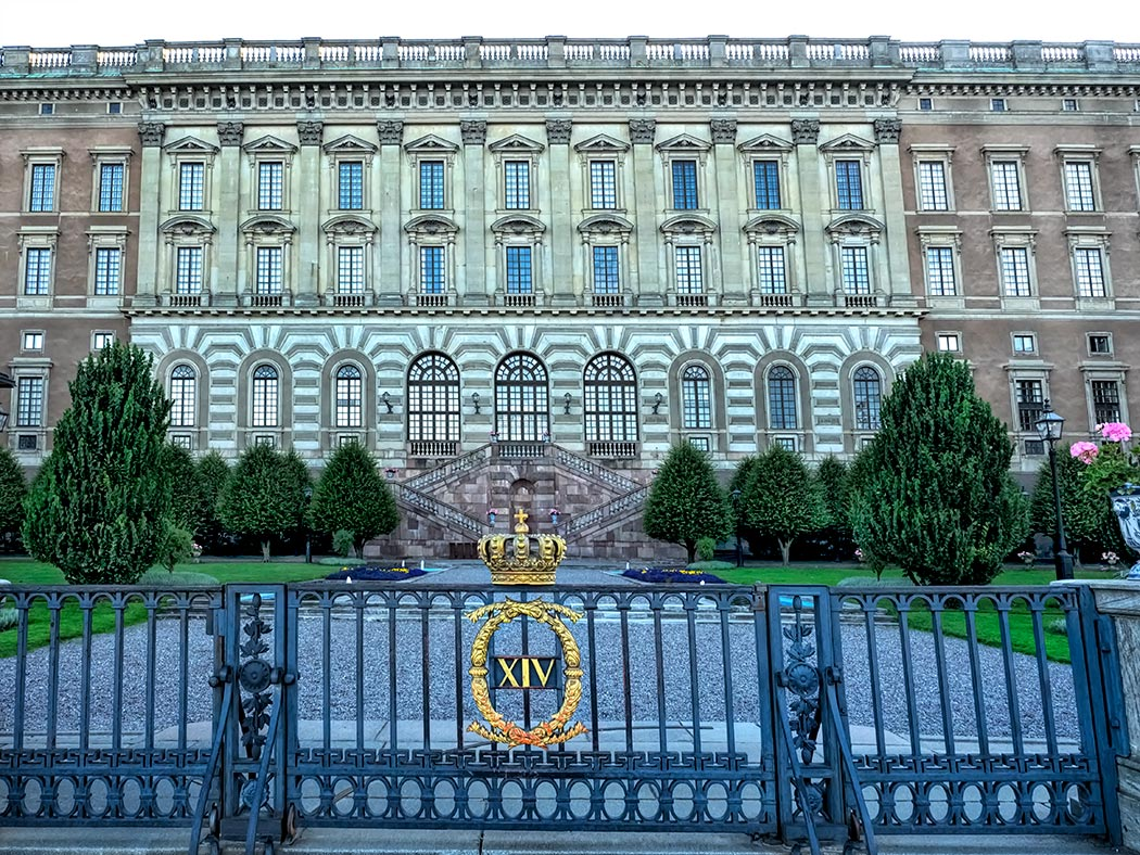 The Royal Palace in Stockholm is the official residence of the King of Sweden