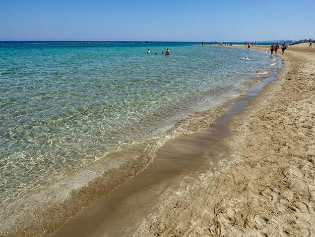 Famagusta Beach, with its famous golden sands, is considered to be the best beach on Cyprus