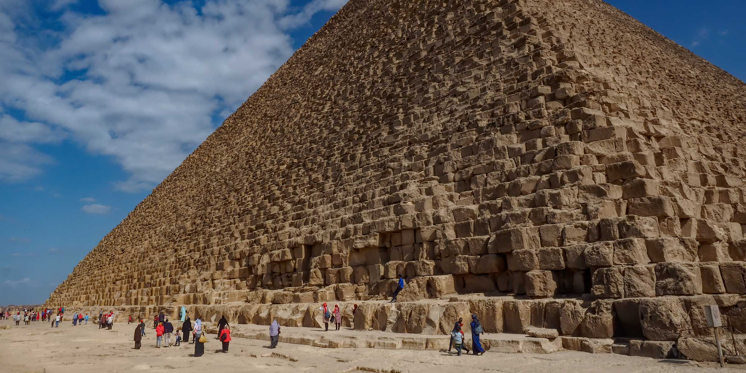 Egypt Giza Great Pyramid of Khufu