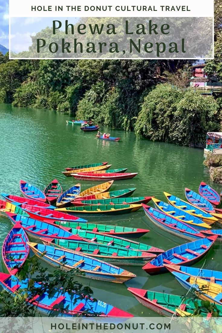 Pokhara is the second largest city in Nepal as well as the second most popular tourist destination in the country, but for me the most impressive sight in the city has always been the colorful wooden boats on Phewa Lake, along which the Lakeside district of Pokhara lies.