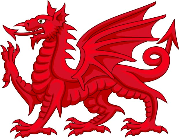 Traditional Welsh Dragon
