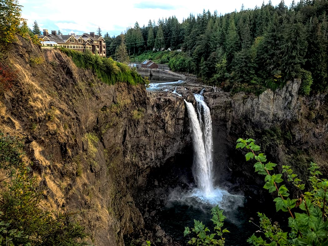 Snowqualmie Falls in Washington State