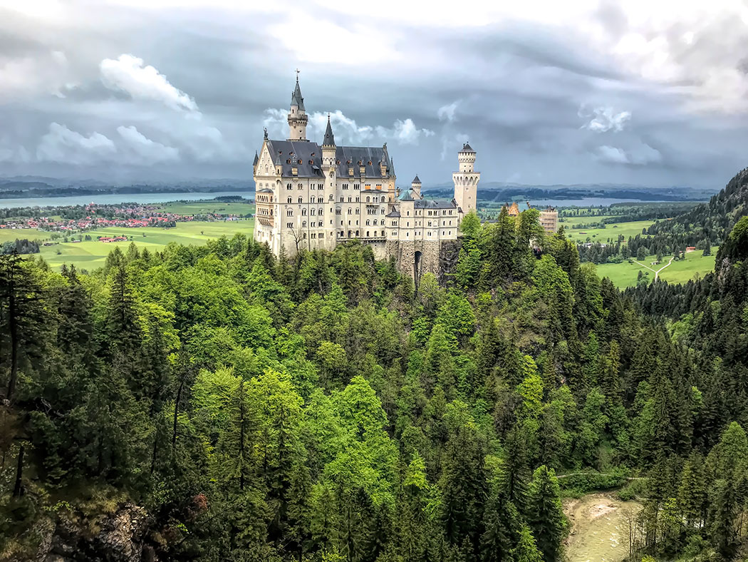 Neuschwanstein Castle near Munich Germany