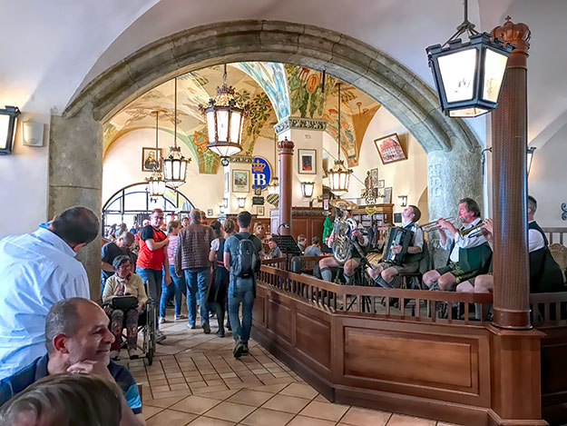 Hofbrauhaus in Munich Germany