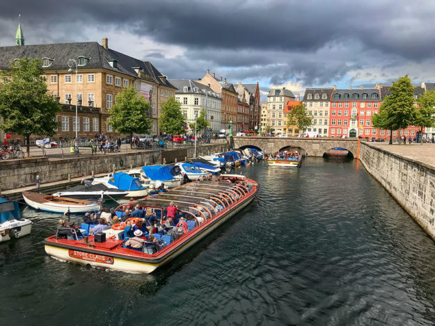 PHOTO: View Down Frederiksholms Kanal in Copenhagen, Denmark