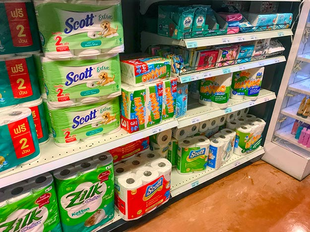 Why there is no shortage of toilet paper in Thailand during the Coronavirus pandemic