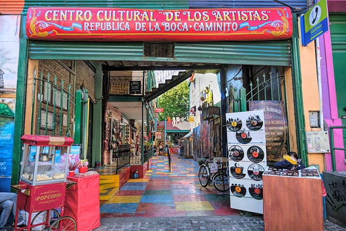 The La Boca neighborhood in Buenos Aires is one of the best places to attend a Tango performance