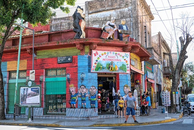 Colorful La Boca neighborhood must be included on any list of things to do in Buenos Aires