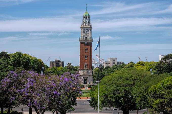 Torre Monumental (the Monumental Clock Tower) was formerly known as the English Clock Tower