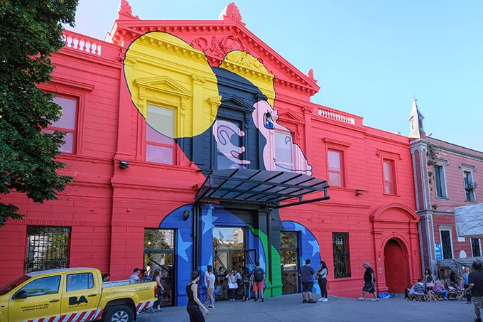 Participatory Science Museum in Buenos Aires, where it is forbidden NOT to touch the displays