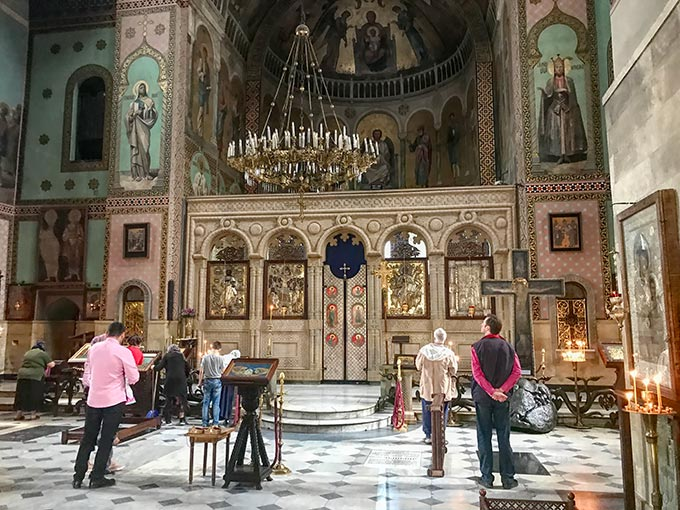 Interior of Sioni Cathedral, an Orthodox Christian Cathedral