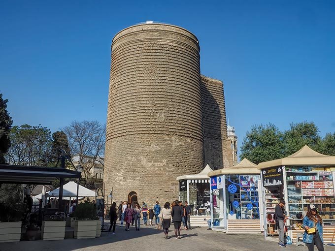 Built in a very unusual undulating shape, Maiden Tower in the Old City must be included on any list of things to do in Baku