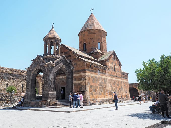 Visiting Armenia - Saint Astvatsatsin Church at Khor Virap Monastery is another site that shouldn't be mised when visiting Armenia